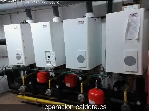 Reparación calderas de gas Alcaraz