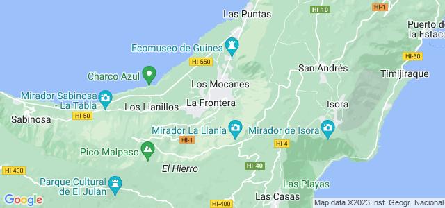 Mapa de Frontera
