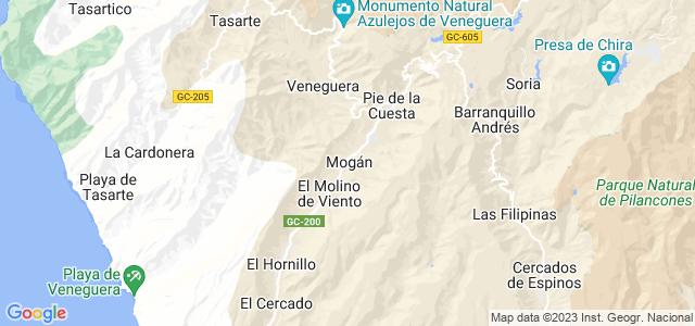 Mapa de Mogán