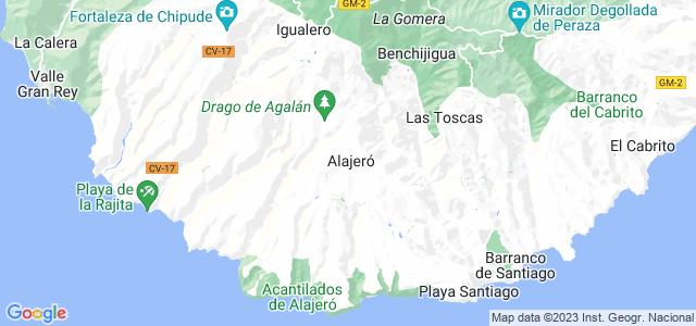 Mapa de Alajeró