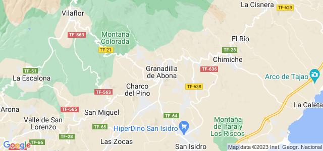 Mapa de Granadilla de Abona