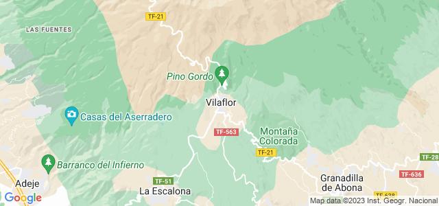 Mapa de Vilaflor