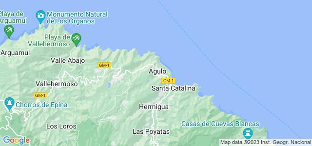 Mapa de Agulo