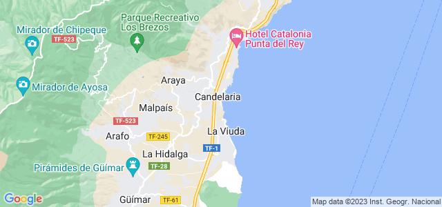 Mapa de Candelaria