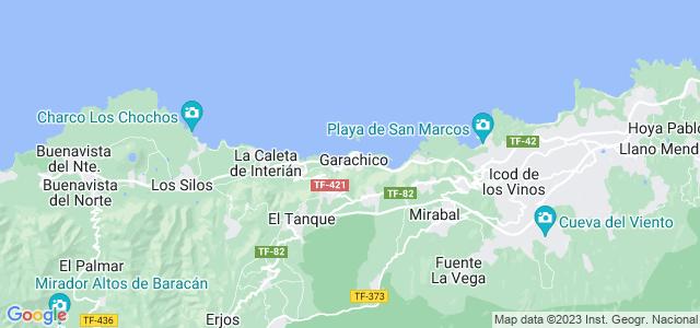 Mapa de Garachico