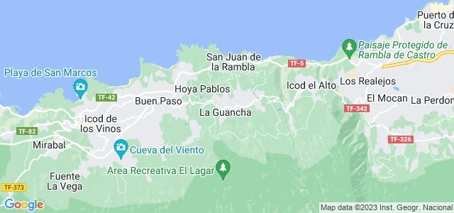 Mapa de Guancha