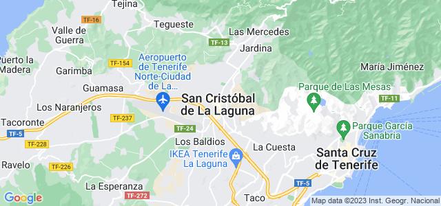 Mapa de San Cristóbal de La Laguna