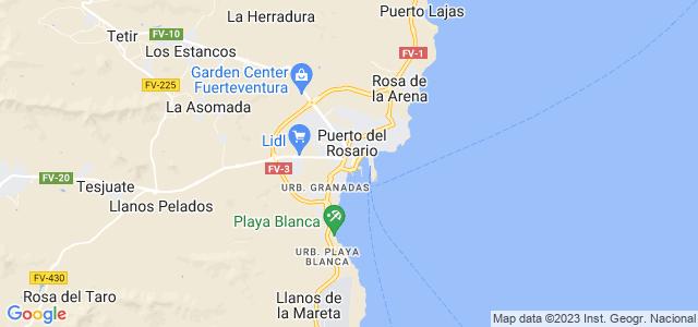 Mapa de Puerto del Rosario