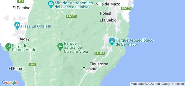 Mapa de Villa de Mazo