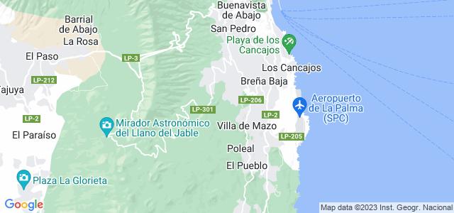 Mapa de Breña Baja