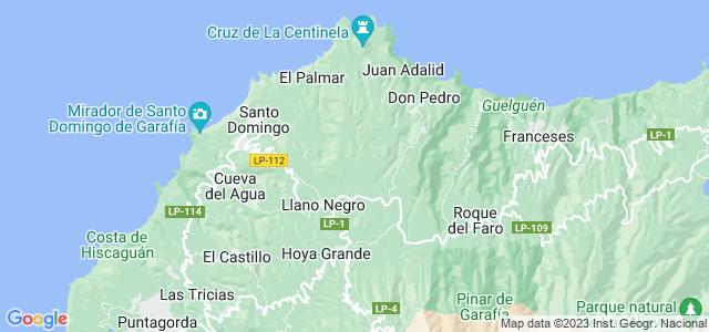 Mapa de Garafía