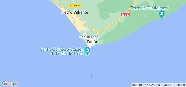 Mapa de Tarifa