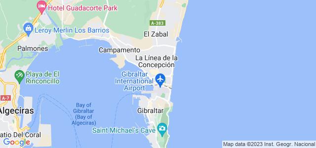 Mapa de Línea de la Concepción