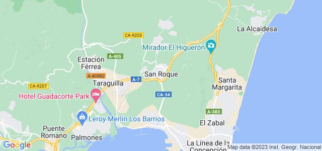 Mapa de San Roque