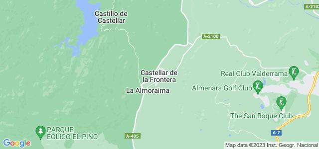Mapa de Castellar de la Frontera