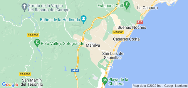 Mapa de Manilva