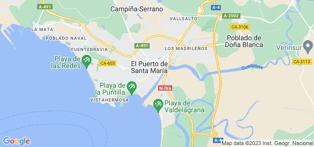 Mapa de Puerto de Santa María