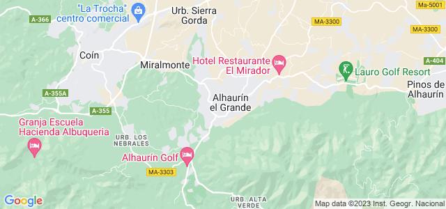 Mapa de Alhaurín el Grande