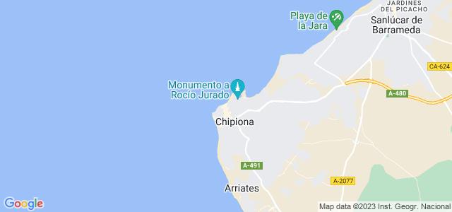 Mapa de Chipiona