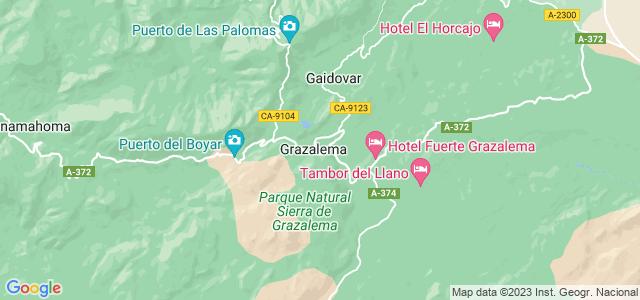 Mapa de Grazalema