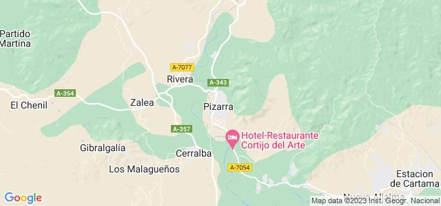 Mapa de Pizarra
