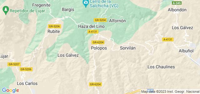 Mapa de Polopos