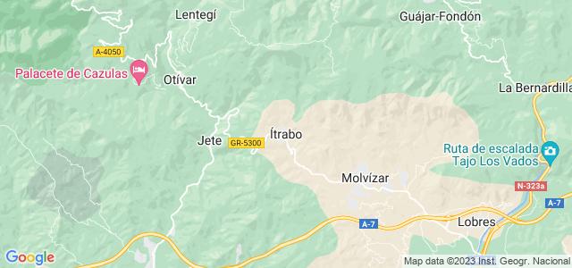Mapa de Itrabo