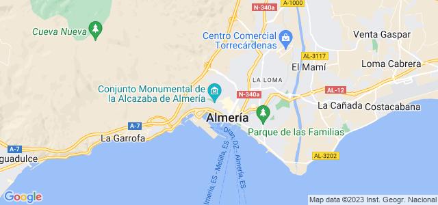 Mapa de Almería