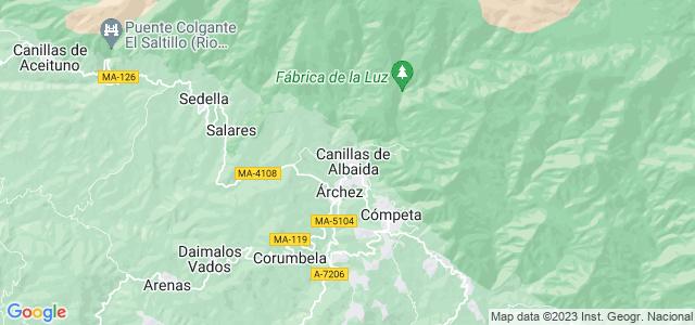 Mapa de Canillas de Albaida