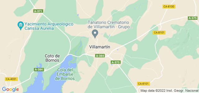 Mapa de Villamartín