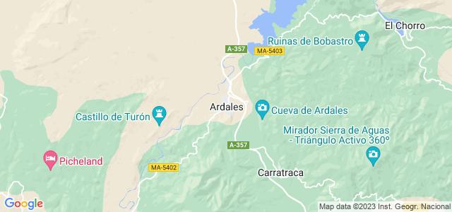 Mapa de Ardales