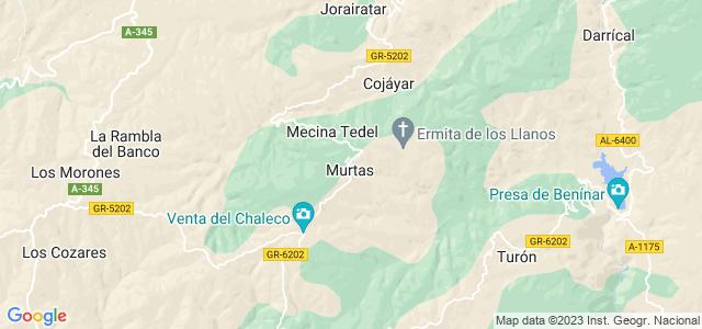 Mapa de Murtas