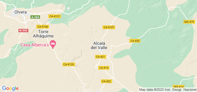 Mapa de Alcalá del Valle