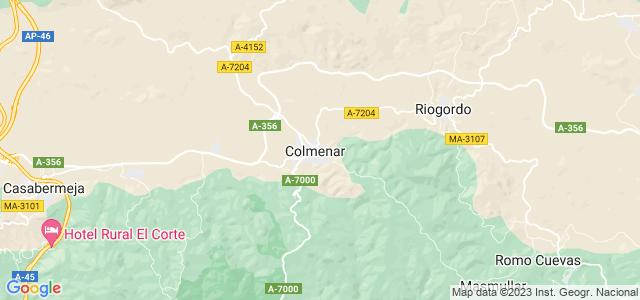 Mapa de Colmenar