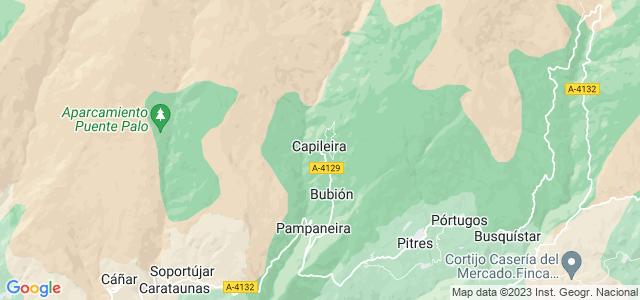 Mapa de Capileira