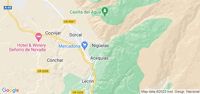 Mapa de Nigüelas