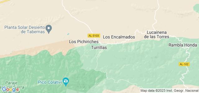 Mapa de Turrillas