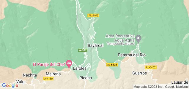 Mapa de Bayárcal