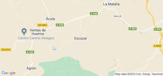 Mapa de Escúzar