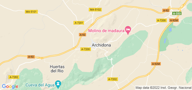 Mapa de Archidona