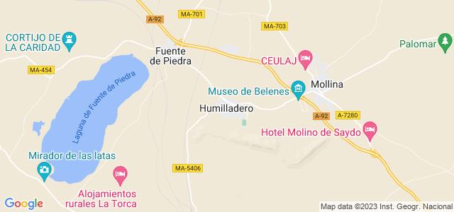 Mapa de Humilladero