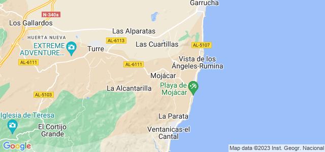 Mapa de Mojácar