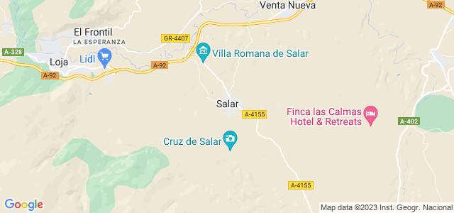 Mapa de Salar