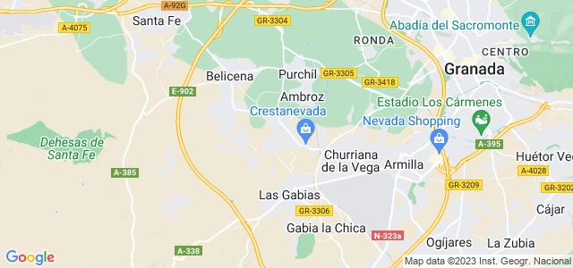 Mapa de Cúllar Vega
