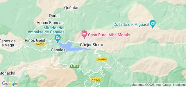 Mapa de Güejar Sierra