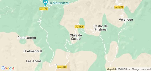 Mapa de Olula de Castro