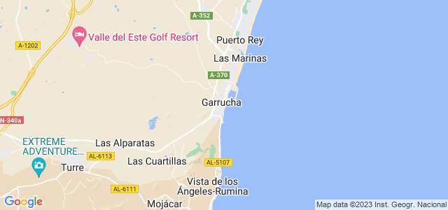 Mapa de Garrucha