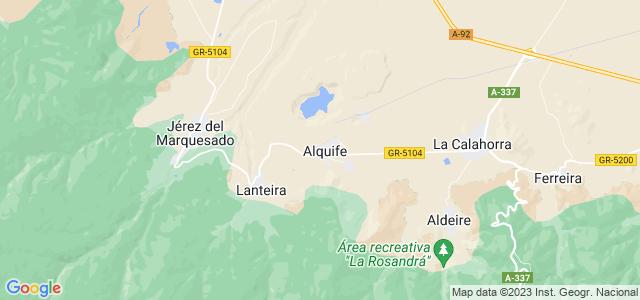 Mapa de Alquife