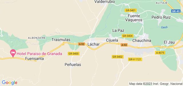 Mapa de Láchar