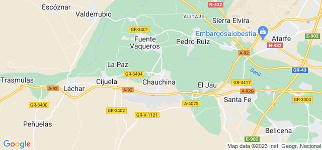 Mapa de Chauchina